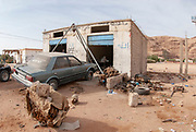 A makeshift Garage (Auto Repair Shop) in Wadi Rum, Jordan