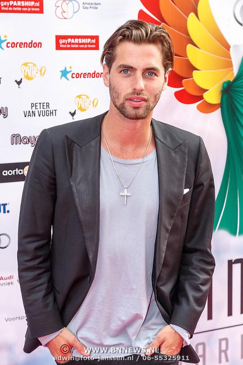 NLD/Amsterdam/20150629 - Uitreiking Rainbow Awards 2015, Manuel Broekman