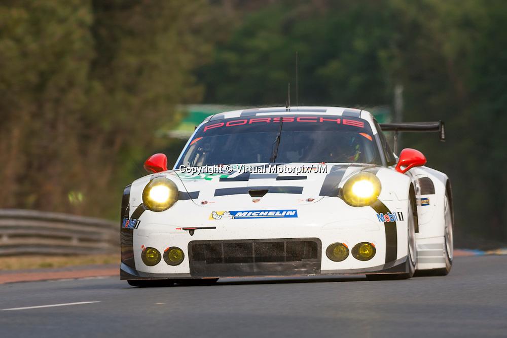 # 91, Porsche 911 RSR, Porsche Team Manthey, Jorg Bergmeister, Michael Christensen, Richard Lietz, Le Mans 24H 2015