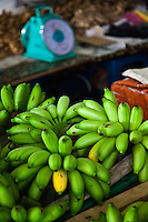 Produce for sale at a local market in Sarawak.
