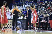 DESCRIZIONE : Milano Eurolega Euroleague 2013-14 EA7 Emporio Armani Milano Olympiacos Piraeus<br /> GIOCATORE : Albitro<br /> CATEGORIA : Delusione<br /> SQUADRA :  Olympiacos Piraeus<br /> EVENTO : Eurolega Euroleague 2013-2014 GARA : EA7 Emporio Armani Milano Olympiacos Piraeus<br /> DATA : 09/01/2014 <br /> SPORT : Pallacanestro <br /> AUTORE : Agenzia Ciamillo-Castoria/I.Mancini<br /> Galleria : Eurolega Euroleague 2013-2014 <br /> Fotonotizia : Milano Eurolega Euroleague 2013-14 EA7 Emporio Armani Milano Olympiacos Piraeus <br /> Predefinita