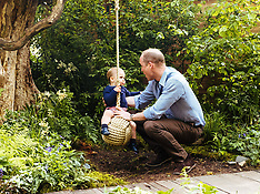 """The Cambridge family visit Kate's """"Back to Nature"""" Garden - 19 May 2019"""