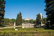 Parque del Campo del Moro, Madrid, Spain