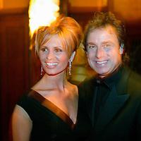 Nederland.Amsterdam.18 maart 2004..Zanger Marco Borsato en zijn vrouw Leontine tijdens de DVDpresentatie in Tuschinski.