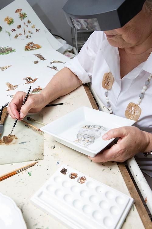 Porzellanmalerei Öne von der Lancken