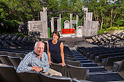 David Frank and Brenda DeVita at the American Players Theatre in Spring Green. (Photo © Andy Manis)