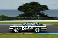 Mike Roddy - Group A - Jaguar XJS.Historic Motorsport Racing - Phillip Island Classic.18th March 2011.Phillip Island Racetrack, Phillip Island, Victoria.(C) Joel Strickland Photographics.Use information: This image is intended for Editorial use only (e.g. news or commentary, print or electronic). Any commercial or promotional use requires additional clearance.
