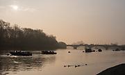 Putney, London,  Tideway Week, Championship Course. River Thames, Putney Bridge.<br /> <br /> Tuesday  28/03/2017<br /> [Mandatory Credit; Credit: Peter Spurrier/Intersport Images.com ]<br />  <br /> <br /> NIKON CORPORATION - NIKON D810 - 1/640 - f10  40.2MB MB