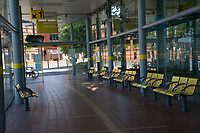 Despite being a UK Bank Holiday Liverpools bus station is empty25.05.20