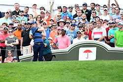 June 25, 2017 - Cromwell, Connecticut, U.S - Daniel Berger during the final round of the Travelers Championship at TPC River Highlands in Cromwell, Connecticut. (Credit Image: © Brian Ciancio via ZUMA Wire)