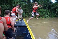 Mitch Lytle Jumping Into The River, Tiputini