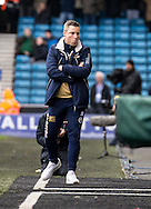 Millwall Manager Neil Harris casually walks over the the watford bench at the final whistle during the FA Cup match at The Den, London<br /> Picture by Liam McAvoy/Focus Images Ltd 07413 543156<br /> 29/01/2017