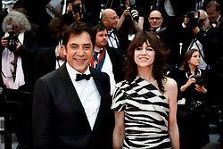 """The Dead Don't Die"" & Opening Ceremony Red Carpet - The 72nd Annual Cannes Film Festival. 14 May 2019 Pictured: Javier Bardem and Charlotte Gainsbourg. Photo credit: Daniele Cifalà / MEGA TheMegaAgency.com +1 888 505 6342"