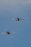BBMF Spitfire Pair during the Midlands Air Festival