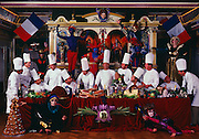 Twelve of the best chefs in France assembled for a fantasy banquet at the restaurant of culinary genius Paul Bocuse in Lyon.