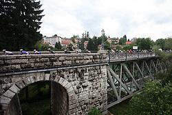 Peloton in Novo mesto in last 4th stage of the 15th Tour de Slovenie from Celje to Novo mesto (157 km), on June 14,2008, Slovenia. (Photo by Vid Ponikvar / Sportal Images)/ Sportida)
