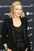 Cate Blanchett auf dem Grünen Teppich beim 15th Zurich Film Festival. Zürich, 05. Oktober 2019.