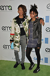 Jaden Smith & Willow Smith bei den Annual EMA Awards in Los Angeles / 221016<br /> <br /> *** 26th Annual EMA Awards in Los Angeles on October 22, 2016 ***