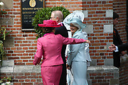 His highness prince Pieter-Christiaan of Oranje Nassau, of Vollenhoven and Ms drs. A.T. van Eijk get married  in the Great or St Jeroens Church in Noordwijk. <br />