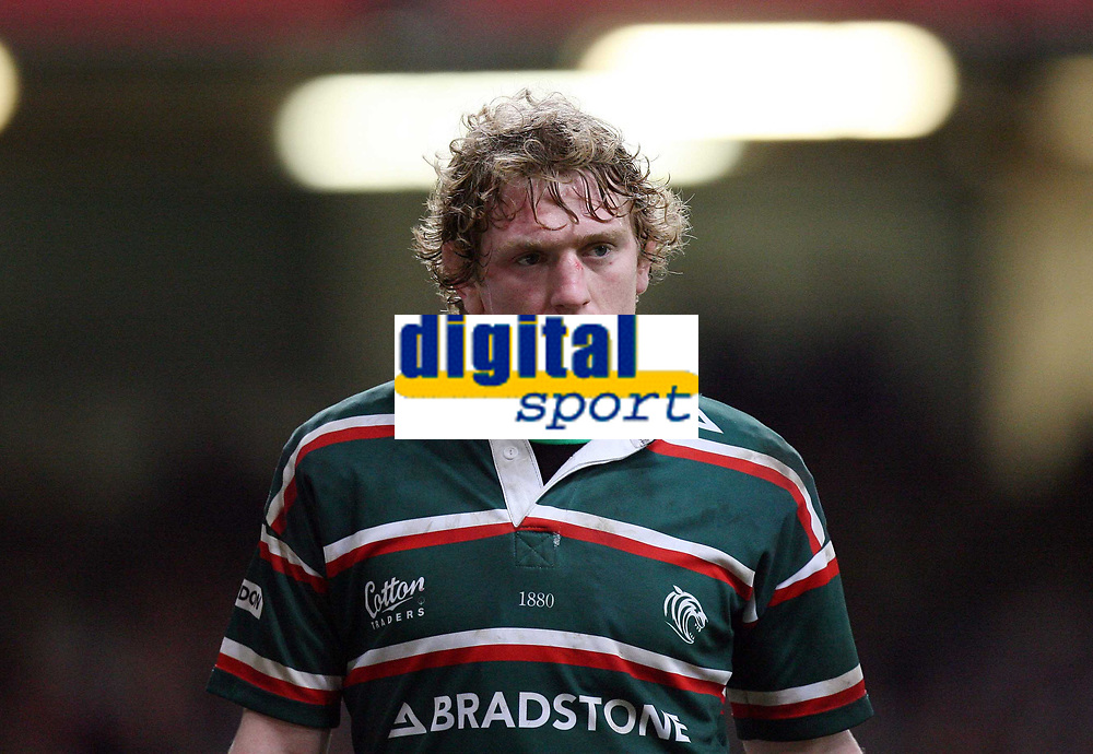 Photo: Rich Eaton.<br /> <br /> Cardiff Blues v Leicester Tigers. Heineken Cup. 29/10/2006. Sam Vesty of Leicester Tigers