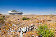 "03 MAY 2012 - VEKOL VALLEY, RURAL PINAL COUNTY, AZ:   Trash left behind by smugglers near I-8 on Bureau of Land Management land south of Interstate 8 and west of Casa Grande in rural Pinal County. The area has been a hotbed of illegal immigrant and drug smuggling for years. The BLM has undertaken a series of ""surges"" in the area, increasing their law enforcement patrols and partnering with Border Patrol and Pinal County Sheriff's Department officers to reduce criminal activity in the area.        PHOTO BY JACK KURTZ"