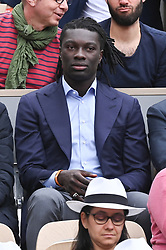 Bafetimbi Gomis attends the 2019 French Tennis Open - Day Three at Roland Garros on May 28, 2019 in Paris, France. Photo by Laurent Zabulon/ABACAPRESS.COM