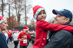 December 17, 2016 - Amsterdam, Netherlands - People had the chance to show pride in their ugly sweater as their sweat it out at the national Ugly Sweater Run at the Vondelpark, in Amsterdam on December 17, 2016. ..Ugly sweater run is also celebrated in other countries, like in the USA, making of this, a Christmas tradition. Also a portion of the proceeds was donated to Rainbow Group Amsterdam and Save the Children charities. (Credit Image: © Romy Arroyo Fernandez/NurPhoto via ZUMA Press)