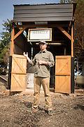 Ben Jacobsen of Jacobsen Salt in Netarts, Oregon