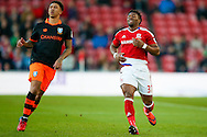 Middlesbrough forward Adama Traore (37)  during the The FA Cup match between Middlesbrough and Sheffield Wednesday at the Riverside Stadium, Middlesbrough, England on 8 January 2017. Photo by Simon Davies.