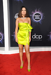 Selena Gomez at the 2019 American Music Awards held at the Microsoft Theater in Los Angeles, USA on November 24, 2019.