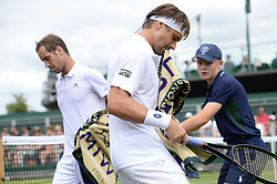 July 4, 2017 - Wimbledon, Angleterre - david ferrer - richard gasquet (Credit Image: © Panoramic via ZUMA Press)