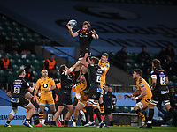 Rugby Union - 2019 / 2020 Gallagher Premiership - Final - Wasps vs Exeter Chiefs - Twickenham<br /> <br /> Exeter Chiefs' Jannes Kirsten claims the lineout.<br /> <br /> COLORSPORT/ASHLEY WESTERN