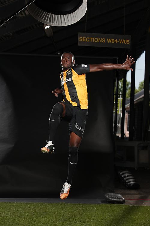 Patrick Okonkwo (17)<br /> Media Day, Home Kits, Charleston Battery at MUSC Health Stadium in Charleston, S.C. on Tuesday, June 19, 2018.<br /> Zach Bland/Charleston Battery