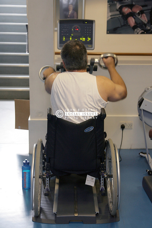 Rehabilitation centre; ASPIRE national training centre; Middlesex, ASPIRE is a charity that works with people with spinal cord injuries, UK