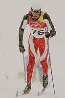 OL 2006 Langrenn menn 15km,<br />Pragelato Plan<br />17.02.06 <br />Foto: Sigbjørn Hofsmo, Digitalsport <br /><br />Anders Aukland NOR - Norge