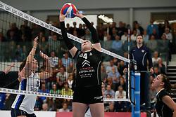 20180425 NED: Eredivisie Sliedrecht Sport - Coolen Alterno, Sliedrecht <br />(L-R) Anna Mebus (4) of Coolen Alterno<br />©2018-FotoHoogendoorn.nl / Pim Waslander