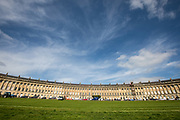 The city of Bath The Georgian City of Bath in the South West of England.