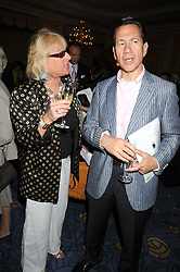 CAROL THATCHER and MICHAEL PORTILLO at a party to celebrate the publication of Gemma Levine's book Mayfair, held at Claridge's, Brook Street, London on 16th June 2008.<br /><br />NON EXCLUSIVE - WORLD RIGHTS