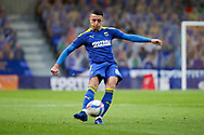 AFC Wimbledon midfielder Anthony Hartigan (8) crossing the ball during the EFL Sky Bet League 1 match between AFC Wimbledon and Bristol Rovers at Plough Lane, London, United Kingdom on 5 December 2020.
