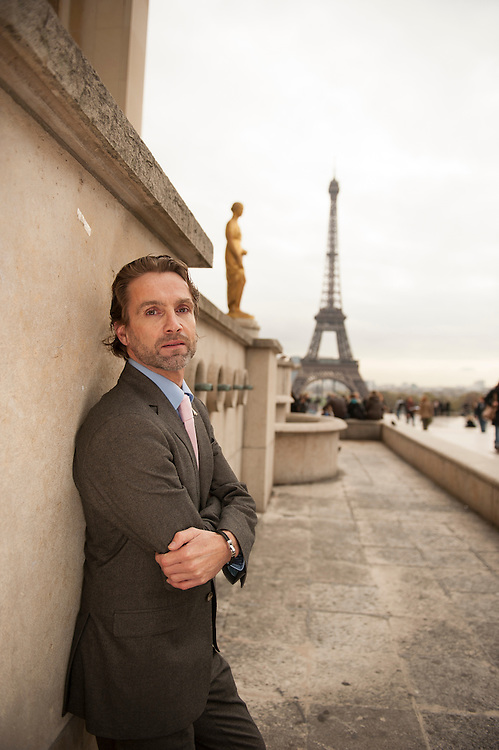 Bob Franke, manager of the Tour Eiffel