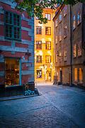 Gamla Stan (Old Town), Stockholm, Sweden
