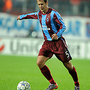 Trabzonspor's Marek CECH during their UEFA Champions League group stage matchday 4 soccer match Trabzonspor between CSKA Moskva at the Avni Aker Stadium at Trabzon Turkey on Wednesday, 02 November 2011. Photo by TURKPIX