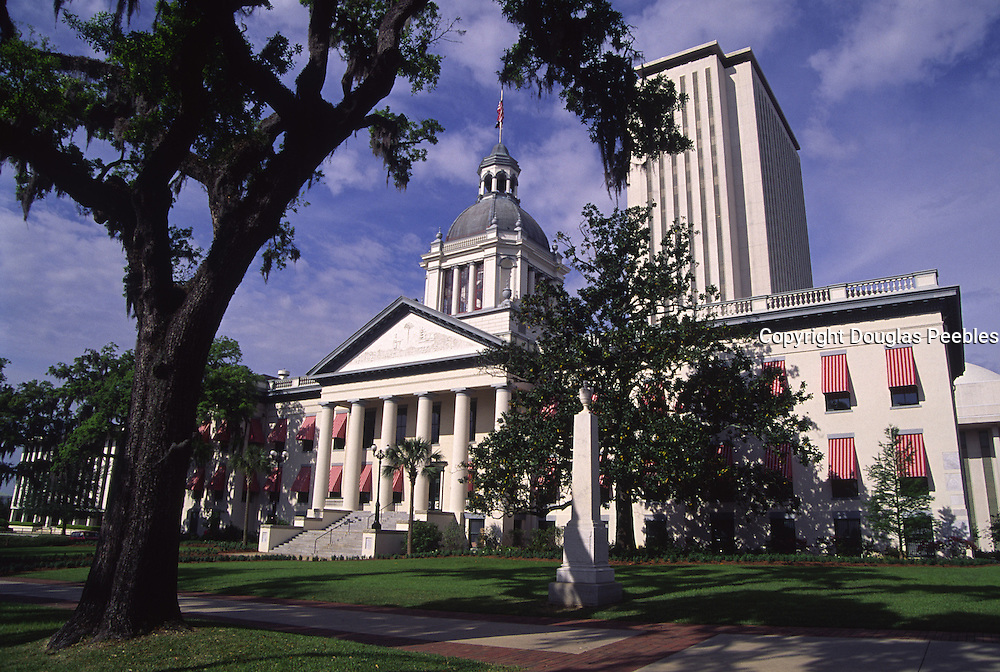 State Capitol Bldg., Tallahassee, Florida<br />