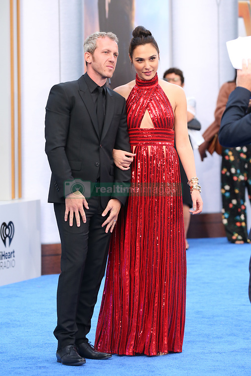 """Stars attend the """"Wonder Woman"""" world Premiere in Los Angeles. 25 May 2017 Pictured: Yaron Versano, Gal Gadot. Photo credit: IPA/MEGA TheMegaAgency.com +1 888 505 6342"""