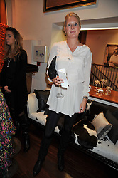 LADY MARIA BALFOUR at a reception in aid of Save The Elephants held at Patrick Mavros, 104-106 Fulham Road, Lodon SW3 on 23rd September 2009.