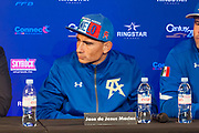 Jose de Jesus Macias (mex) during the official weighing and press conference before the heavyweight boxing bout between Tony Yoka (FRA) and Cyril Leonet (FRA) on April 6, 2018 in Boulogne-Billancourt, France - Photo Pierre Charlier / ProSportsImages / DPPI