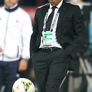 Sivasspor's coach Roberto Carlos during their Turkish superleague soccer match Besiktas between Sivasspor at Osmanli Stadium in Istanbul Turkey on Sunday 19 October 2014. Photo by Kurtulus YILMAZ/TURKPIX