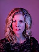 Author Anna Karolina photographed in Malmö, Sweden 2017.<br /> Photo by Ola Torkelsson<br /> Copyright Ola Torkelsson  ©