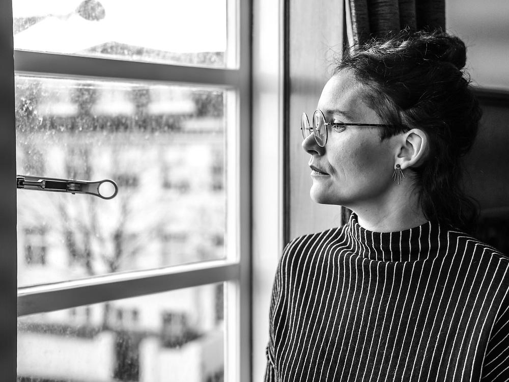 Impromptu portrait of Icelandic singer-songwriter Sóley at Iceland Airwaves