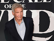 """13 February 2020 - Hollywood, California - Harrison Ford at the World Premiere of twentieth Century Studios """"The Call of the Wild"""" Red Carpet Arrivals at the El Capitan Theater."""